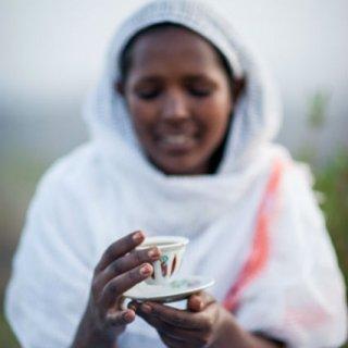 Coffee Mania, Un café avec les Ethiopiens