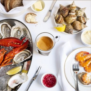 Coffee Mania, Accords de café : les fruits de mer