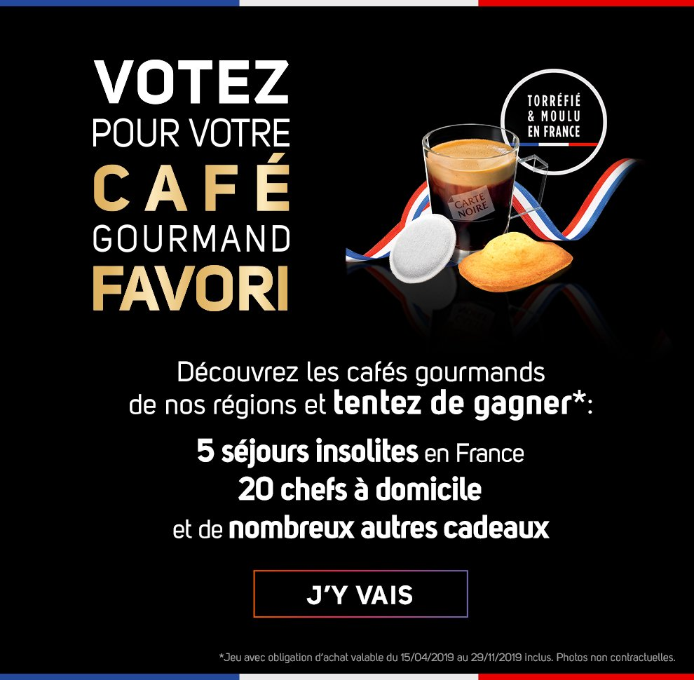 Carte Noire Made in France