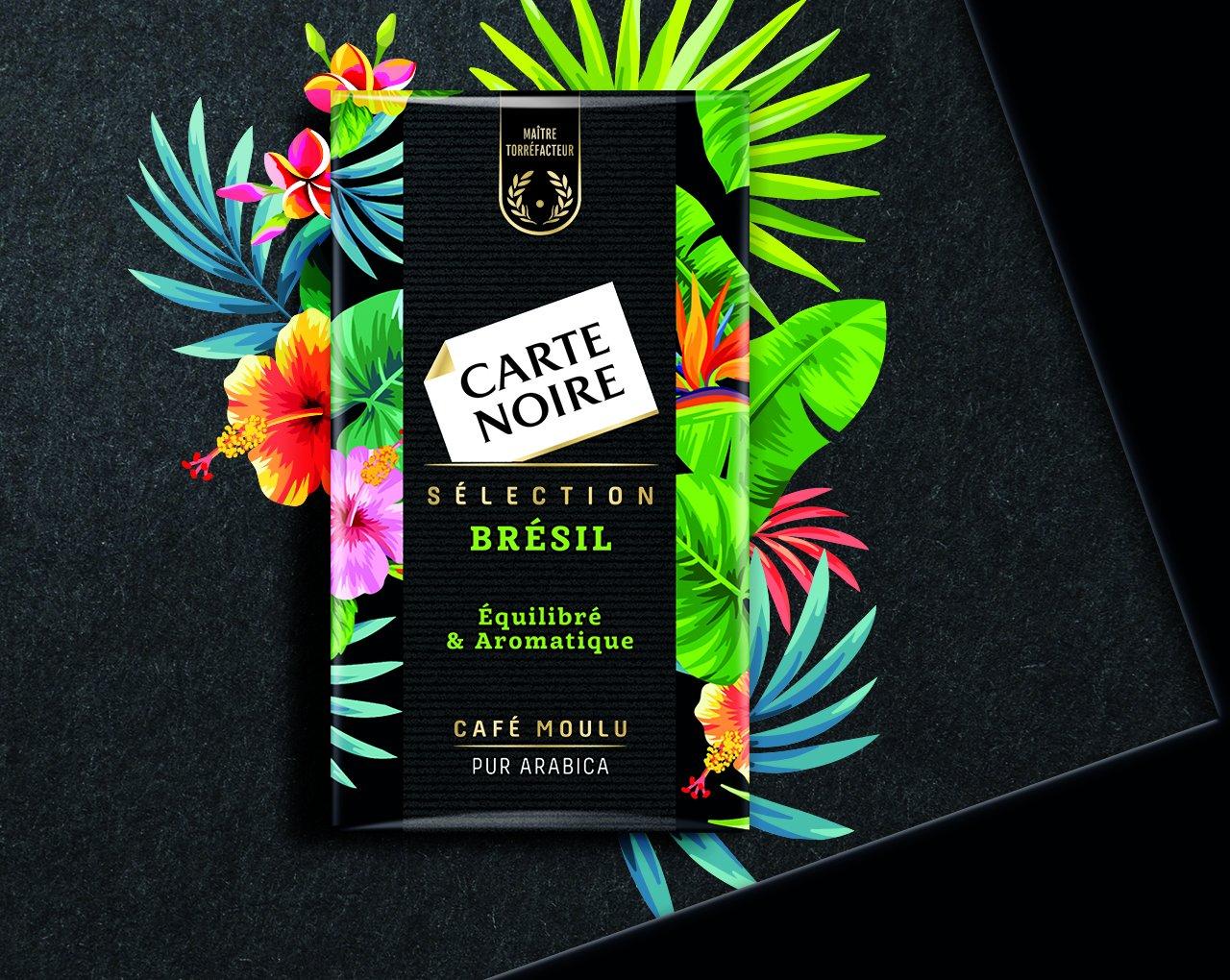 SELECTION BRESIL - Café torréfié moulu