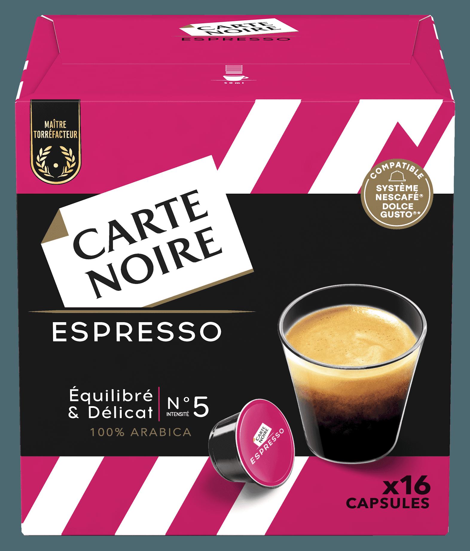 ESPRESSO x16 - Café torréfié moulu en capsules