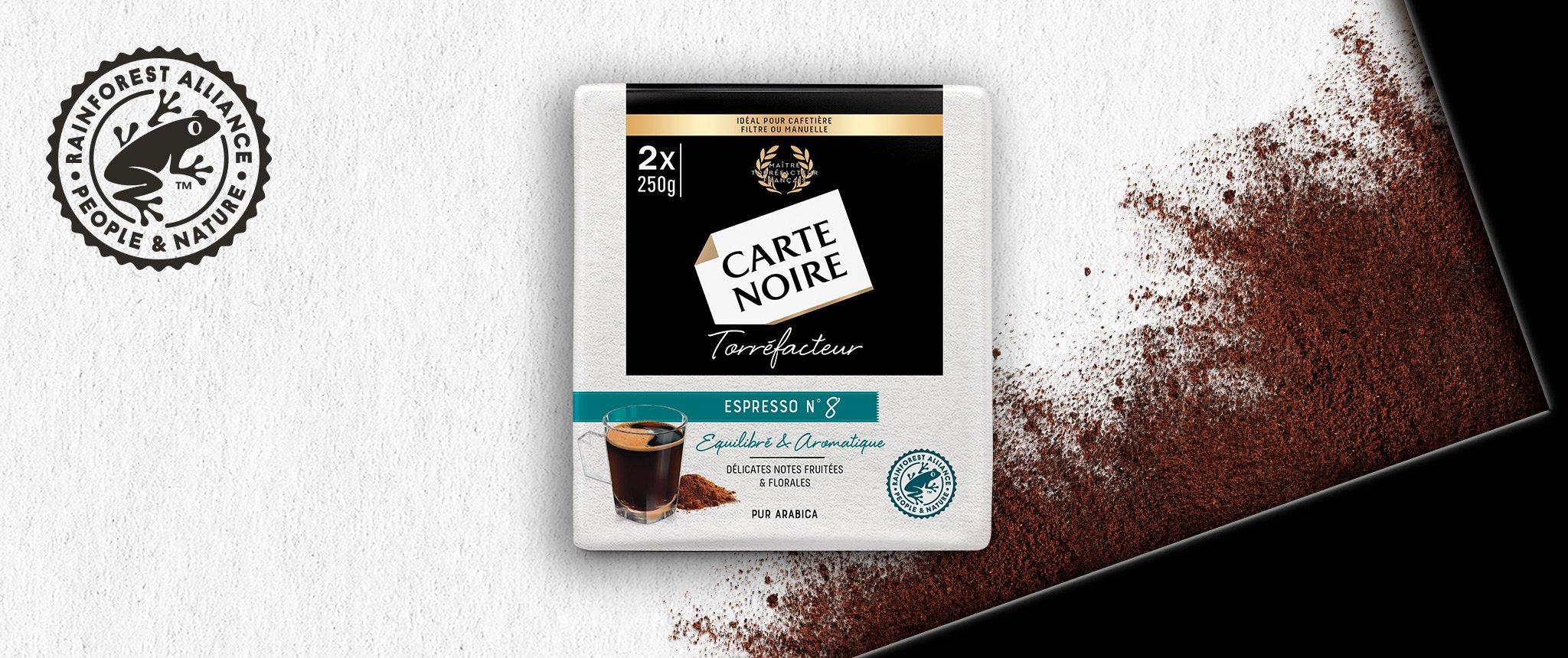 MOULU TORREFACTEUR N°8 - Café torréfié moulu