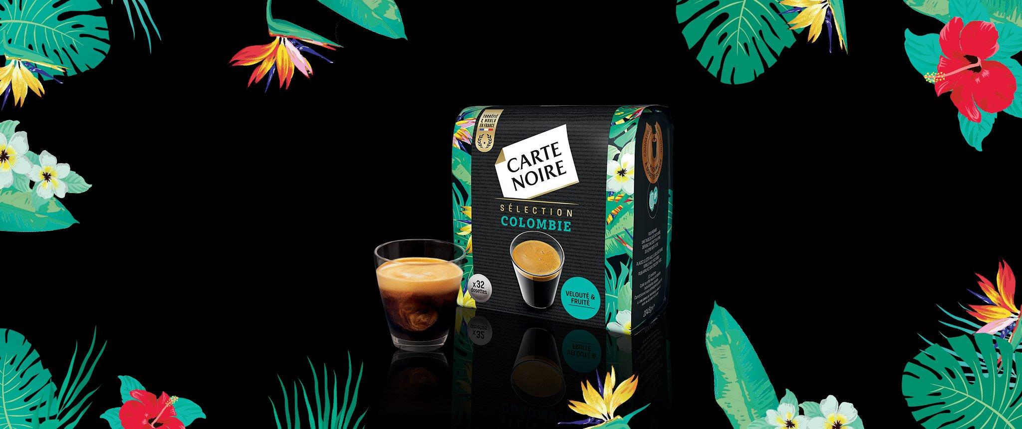 SELECTION COLOMBIE - Café torréfié moulu en dosettes individuelles souples