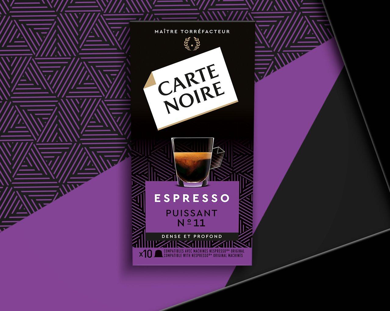 ESPRESSO PUISSANT N°11 - Café torréfié moulu en capsules
