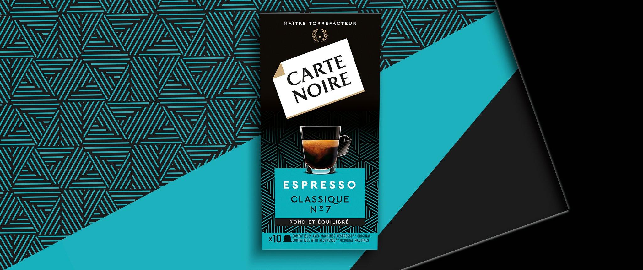 ESPRESSO  CLASSIQUE N°7 - Café torréfié moulu en capsules