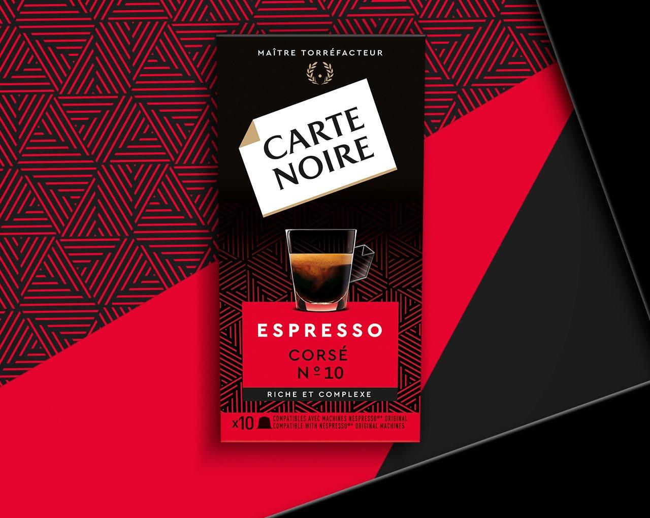 ESPRESSO CORSÉ N°10 - Café torréfié moulu en capsules