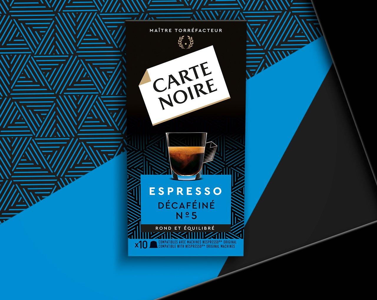 ESPRESSO  DÉCAFÉINÉ - Café torréfié décaféiné moulu en capsules