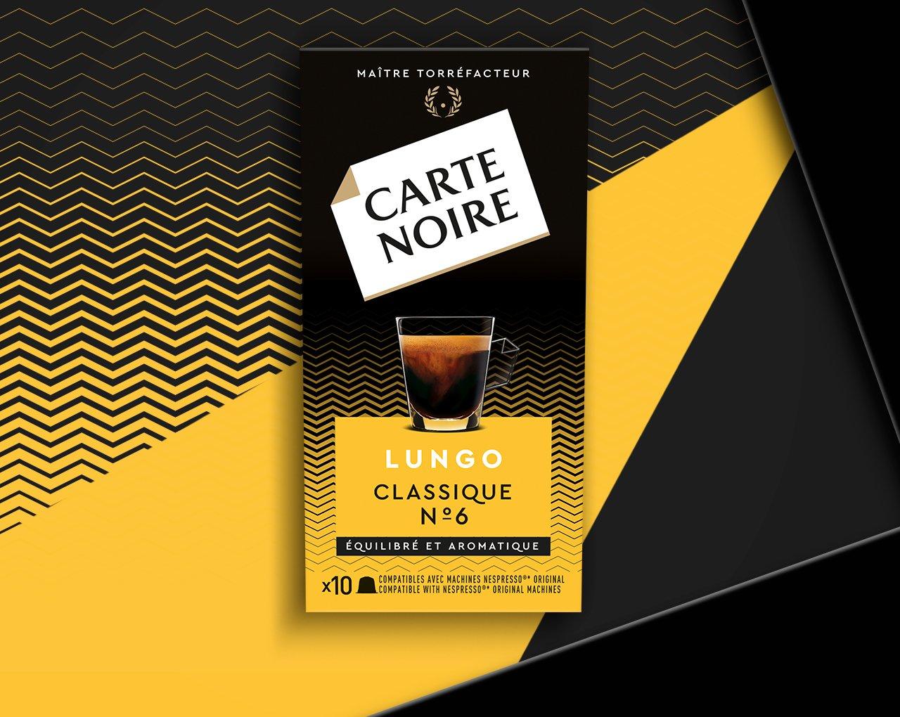CAFE LUNGO - Café torréfié moulu en capsules