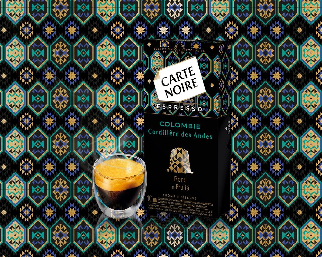 Colombie - Cordillere des Andes - Café torréfié moulu en capsules