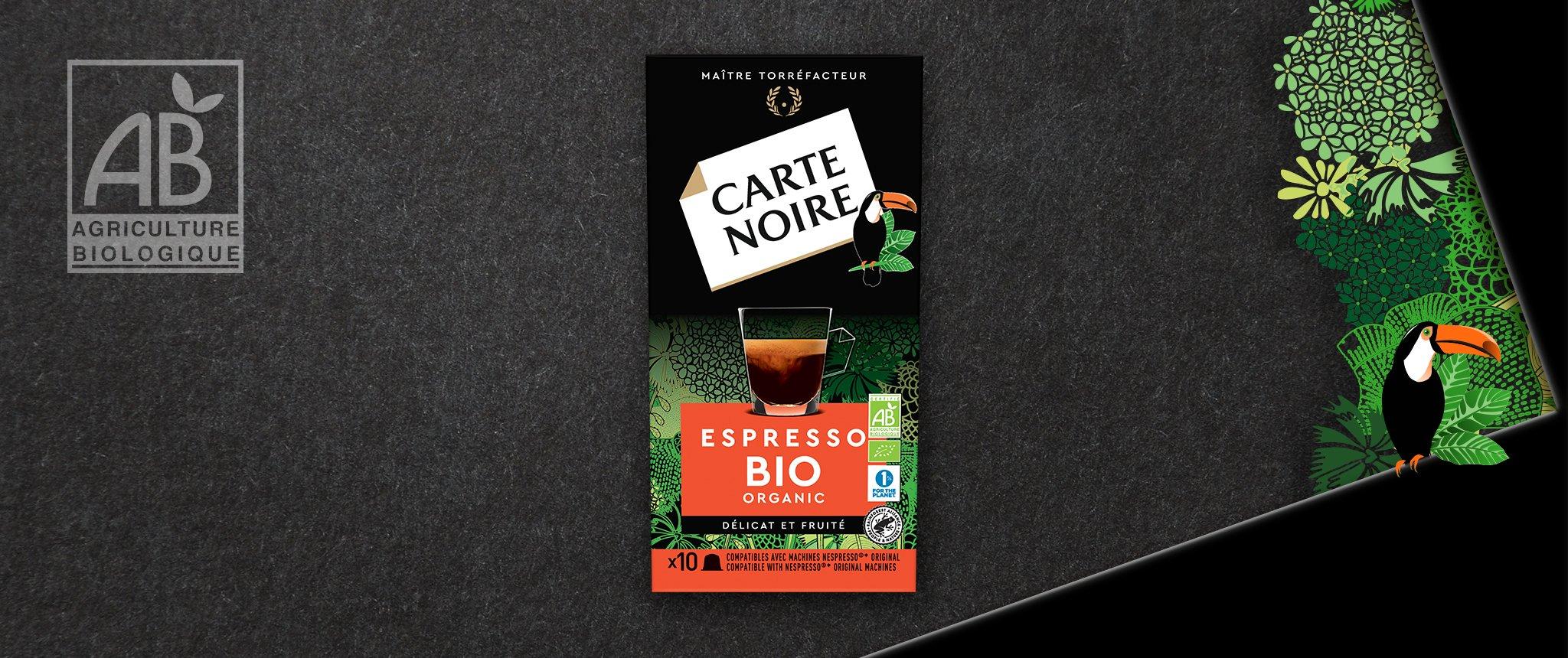 ESPRESSO BIO - Café biologique torréfié et moulu en capsules