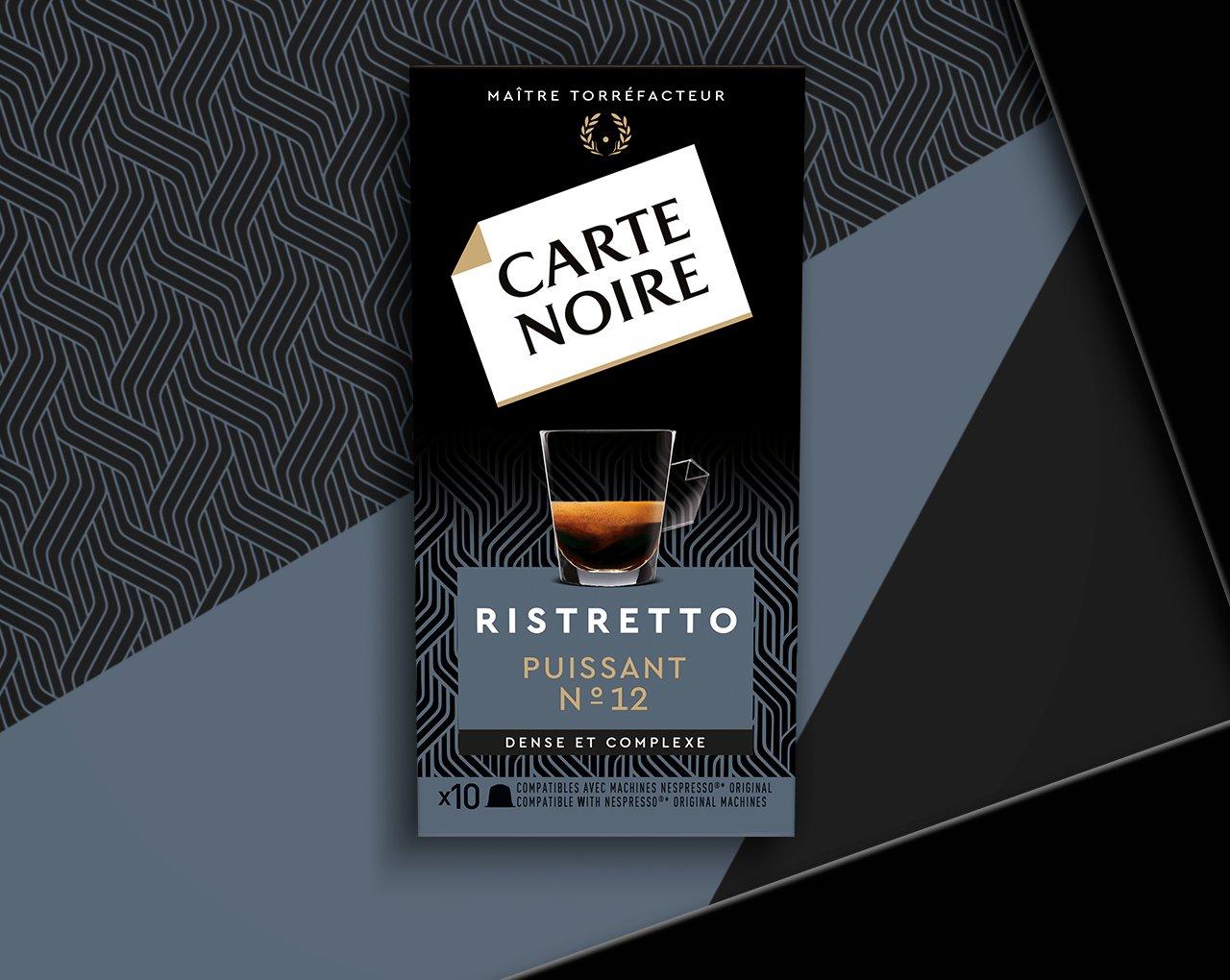 RISTRETTO - Café torréfié moulu en capsules