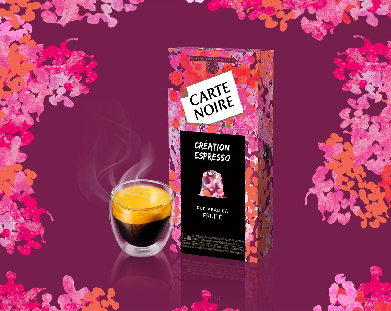CREATION FRUITEE - Café torréfié moulu en capsules