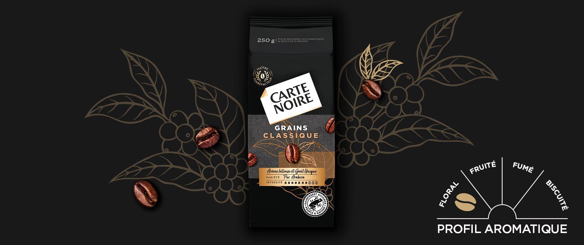 GRAINS CLASSIQUE - Café en grains torréfiés