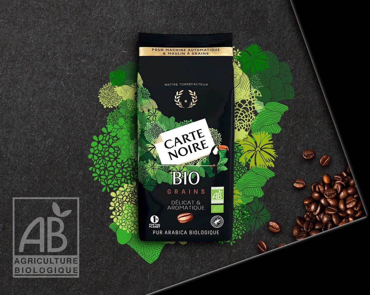 GRAINS BIO - Café en grains biologique torréfié