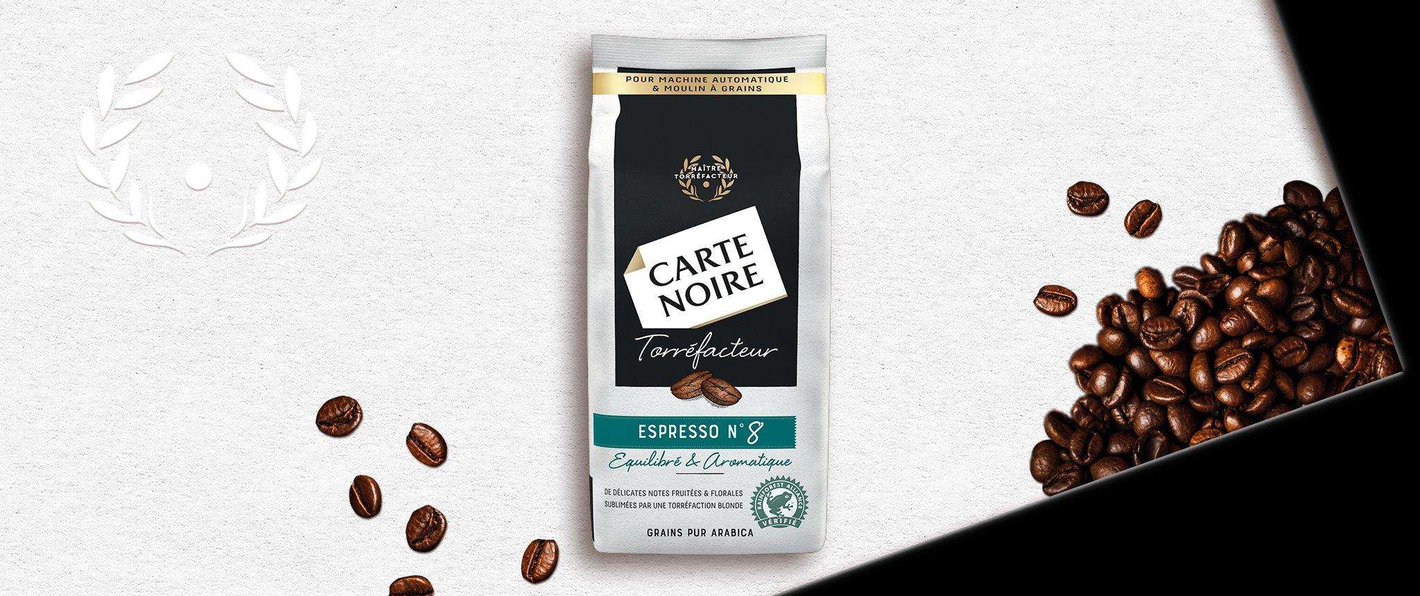 GRAINS TORREFACTEUR N°8 - Café en grains torréfiés