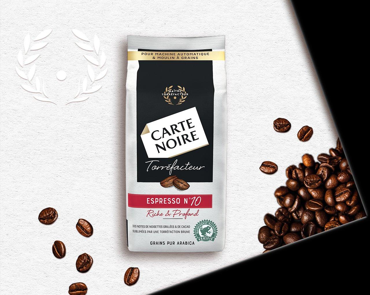 GRAINS TORREFACTEUR N°10 - Café en grains torréfiés