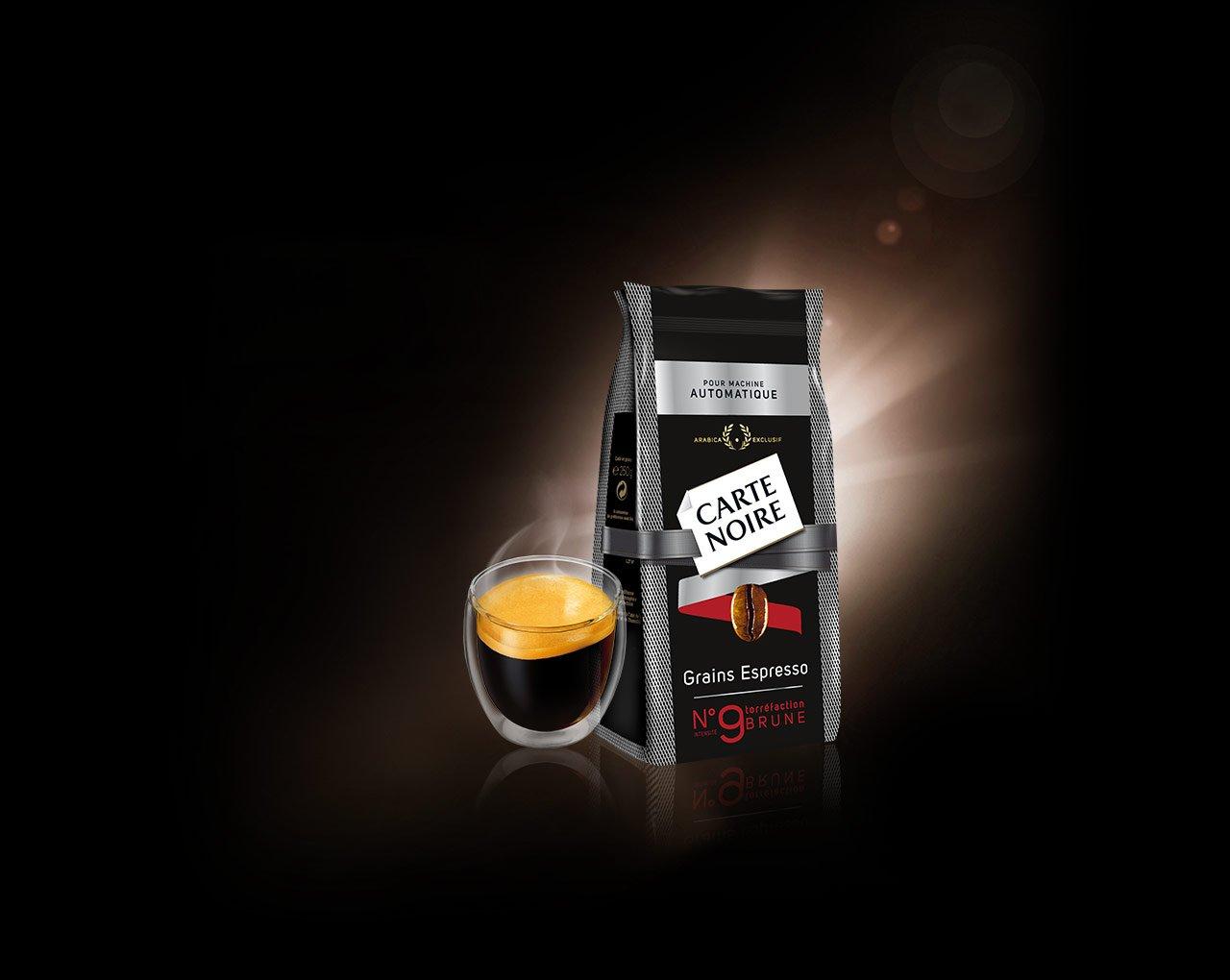 GRAINS ESPRESSO N°9 - Café en grains torréfiés