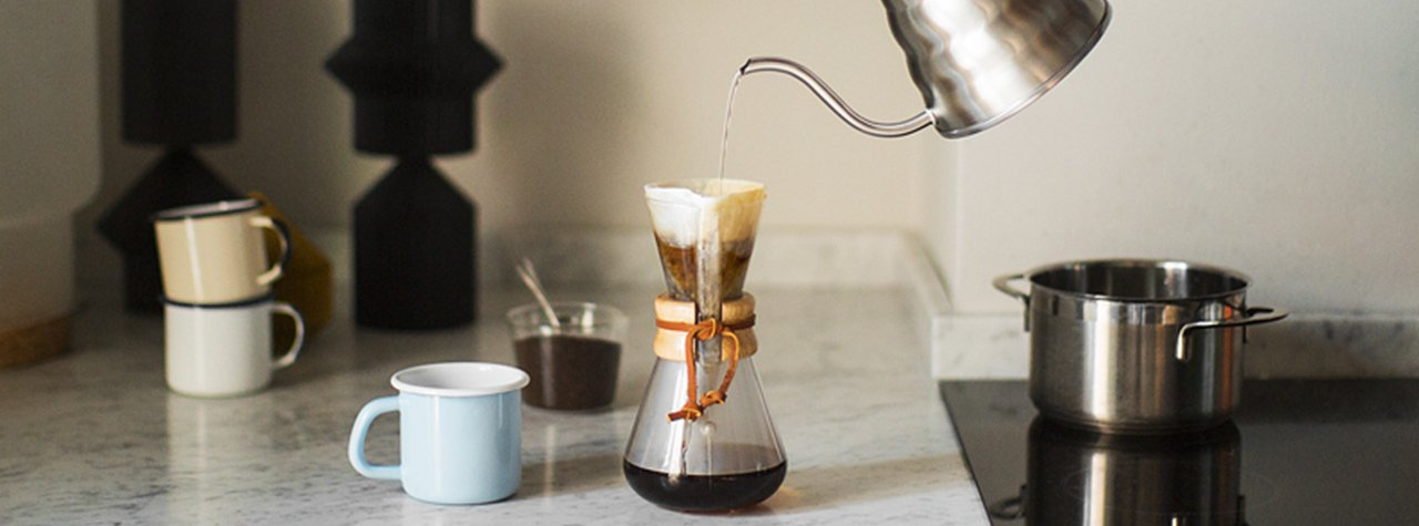 """LA CAFETIÈRE CHEMEX, REINE DU """"SLOW COFFEE"""""""